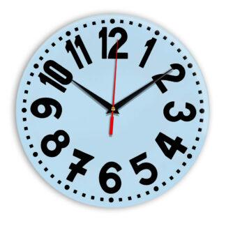 Настенные часы Ideal 913 светло-голубой