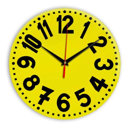 Настенные часы Ideal 913 желтые