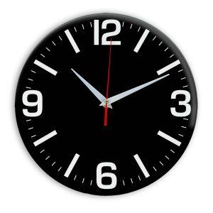 Настенные часы Ideal 914 черные