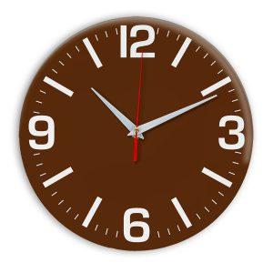 Настенные часы Ideal 914 коричневый