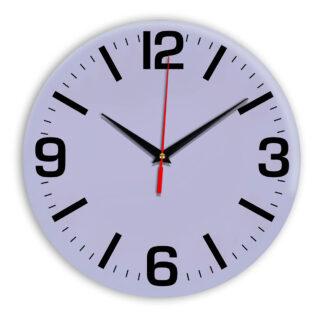 Настенные часы Ideal 914 сиреневый светлый