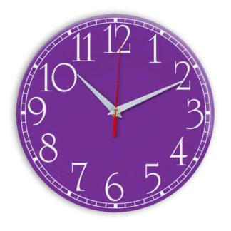 Настенные часы Ideal 915 фиолетовые