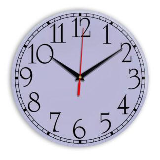 Настенные часы Ideal 915 сиреневый светлый