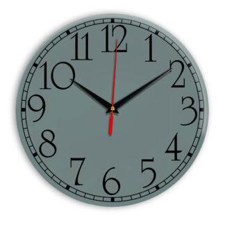Настенные часы Ideal 915 серо синий