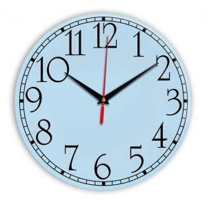 Настенные часы Ideal 915 светло-голубой