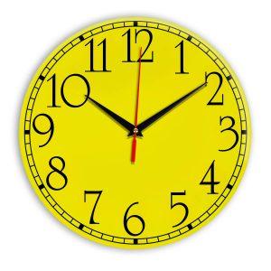 Настенные часы Ideal 915 желтые