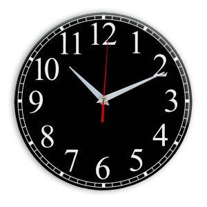 Настенные часы Ideal 916 черные