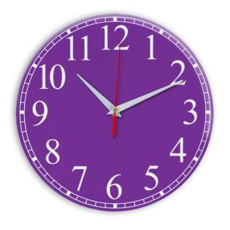 Настенные часы Ideal 916 фиолетовые