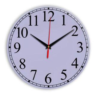 Настенные часы Ideal 916 сиреневый светлый