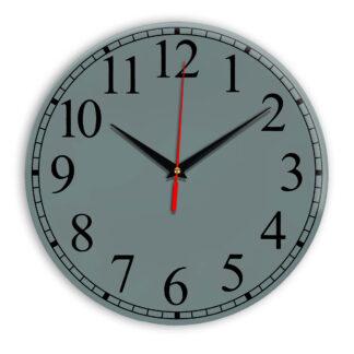 Настенные часы Ideal 916 серо синий