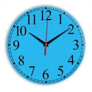 Настенные часы Ideal 916 синий светлый