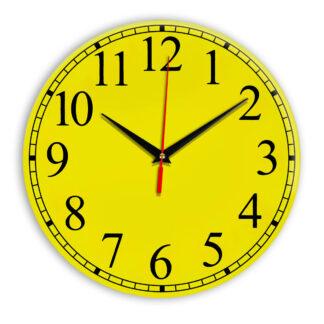 Настенные часы Ideal 916 желтые
