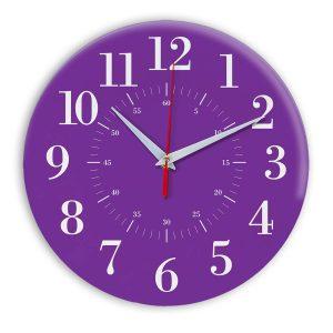 Настенные часы Ideal 917 фиолетовые