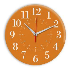 Настенные часы Ideal 917 оранжевый