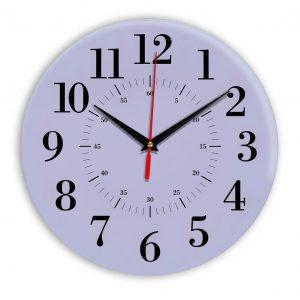 Настенные часы Ideal 917 сиреневый светлый