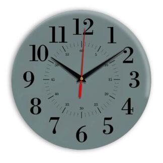 Настенные часы Ideal 917 серо синий
