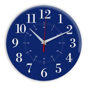Настенные часы Ideal 917 синий темный
