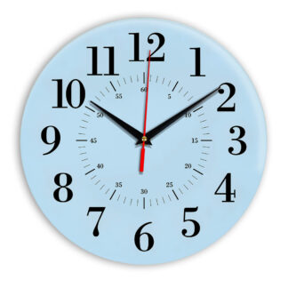 Настенные часы Ideal 917 светло-голубой