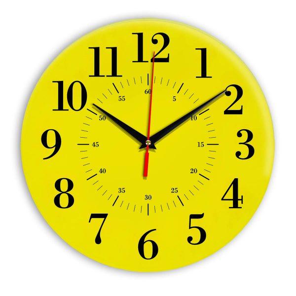 Настенные часы Ideal 917 желтые