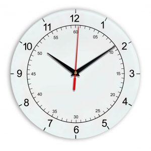 Настенные часы Ideal 918 белые