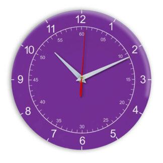 Настенные часы Ideal 918 фиолетовые