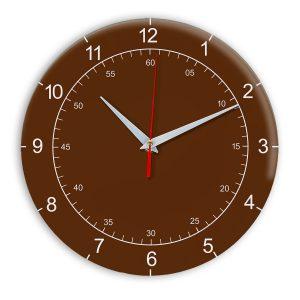 Настенные часы Ideal 918 коричневый