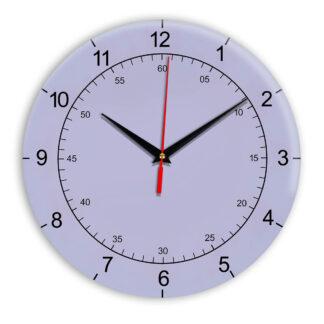 Настенные часы Ideal 918 сиреневый светлый