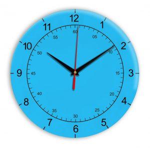 Настенные часы Ideal 918 синий светлый