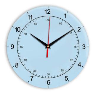 Настенные часы Ideal 918 светло-голубой