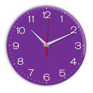 Настенные часы Ideal 919 фиолетовые