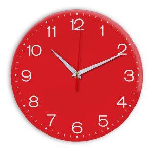 Настенные часы Ideal 919 красный