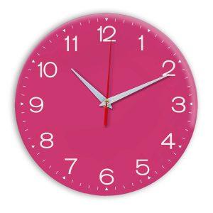 Настенные часы Ideal 919 розовые