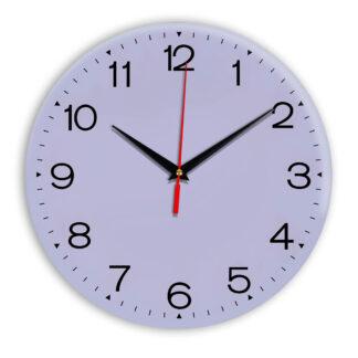 Настенные часы Ideal 919 сиреневый светлый