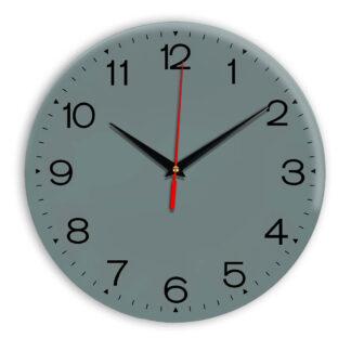 Настенные часы Ideal 919 серо синий