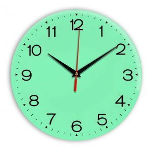 Настенные часы Ideal 919 светлый зеленый