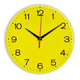 Настенные часы Ideal 919 желтые