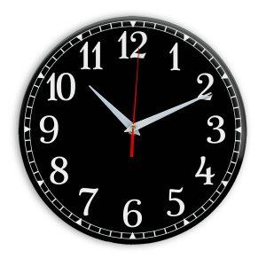 Настенные часы Ideal 920 черные