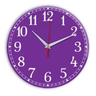 Настенные часы Ideal 920 фиолетовые