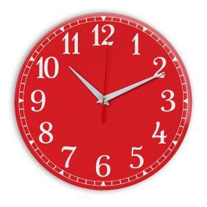 Настенные часы Ideal 920 красный