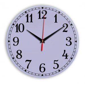 Настенные часы Ideal 920 сиреневый светлый