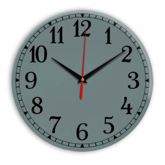Настенные часы Ideal 920 серо синий