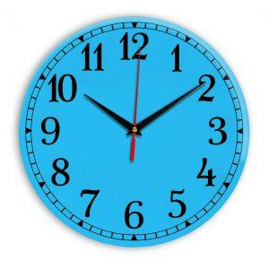 Настенные часы Ideal 920 синий светлый