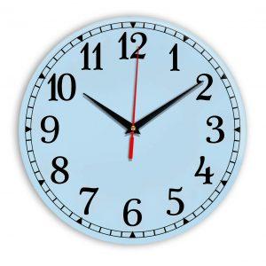 Настенные часы Ideal 920 светло-голубой