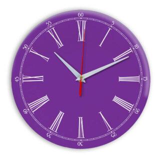 Настенные часы Ideal 921 фиолетовые