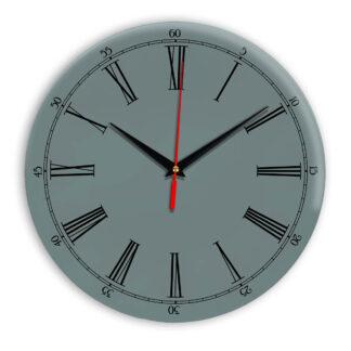 Настенные часы Ideal 921 серо синий