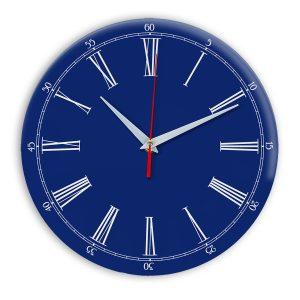 Настенные часы Ideal 921 синий темный