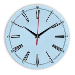 Настенные часы Ideal 921 светло-голубой