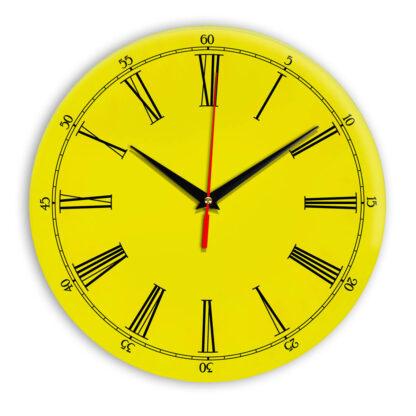 Настенные часы Ideal 921 желтые