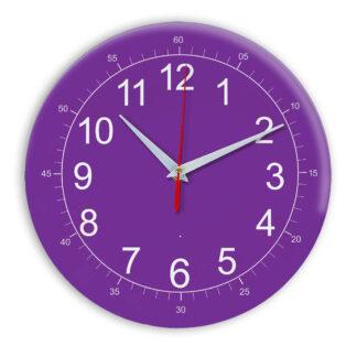 Настенные часы Ideal 922 фиолетовые