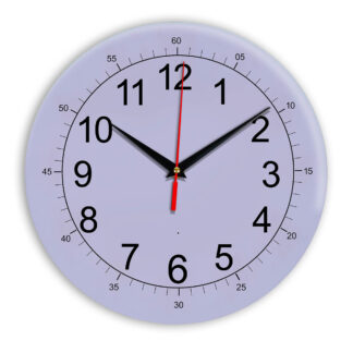 Настенные часы Ideal 922 сиреневый светлый